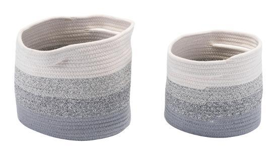 Maku Set of 2 Baskets With Handles--Home Accessories