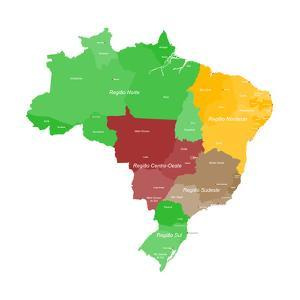Map of Brazil by malachy120