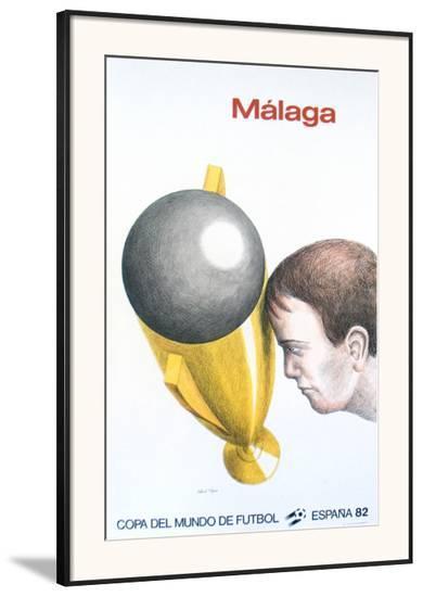 Malaga, Mundial-Roland Topor-Framed Art Print