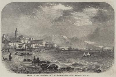 Malaga, the Chief Port of Granada, on the South Coast of Spain--Giclee Print