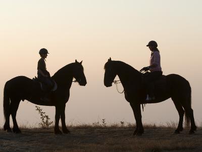 Malawi, Zomba Plateau, a Horse Riding Safari Is a Popular Way to Explore Zomba Plateau, (MR)-John Warburton-lee-Photographic Print