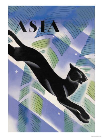 Malayan Night-Frank Mcintosh-Art Print