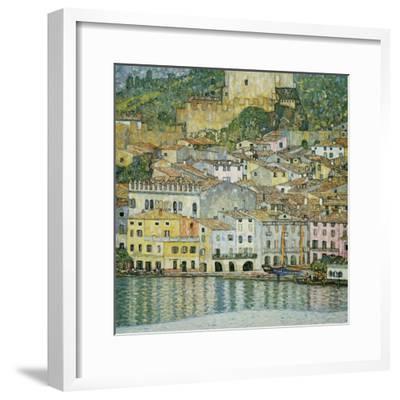 Malcesine, Lake Garda, 1913-Gustav Klimt-Framed Premium Giclee Print