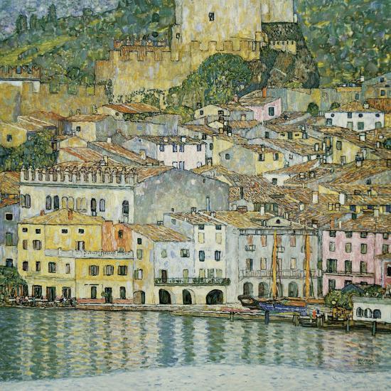 Malcesine, Lake Garda, 1913-Gustav Klimt-Giclee Print