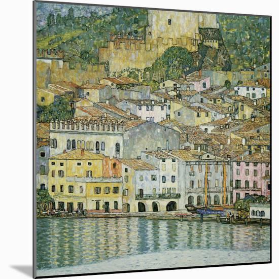 Malcesine, Lake Garda, 1913-Gustav Klimt-Mounted Giclee Print