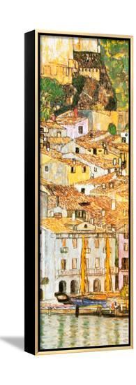 Malcesine sul Garda (detail)-Gustav Klimt-Framed Canvas Print