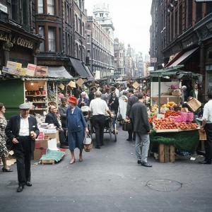 Rupert Street in Soho, London 1966 by Malcolm MacNeill
