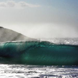 Breaking Wave by Malcolm Sanders