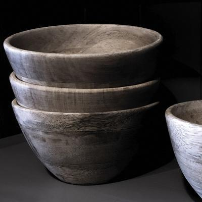 Simple Wooden Bowls