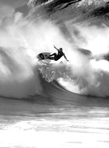 Surf Aerial Dance by Malcolm Sanders