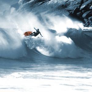 Surf Aerial by Malcolm Sanders