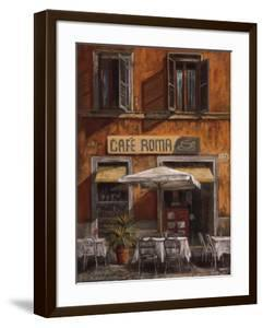 Cafe Roma by Malcolm Surridge