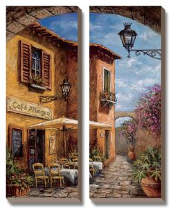 Courtyard Café by Malcolm Surridge