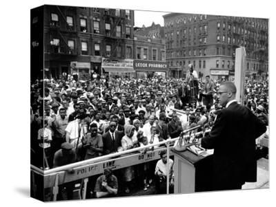Malcolm X Harlem Rally