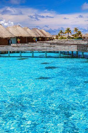 maldives-bungalows-blue-water