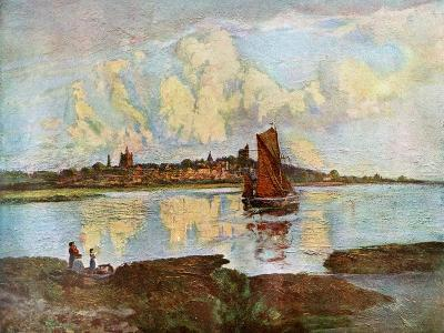 Maldon, from Heybridge, Essex, 1924-1926-Louis Burleigh Bruhl-Giclee Print