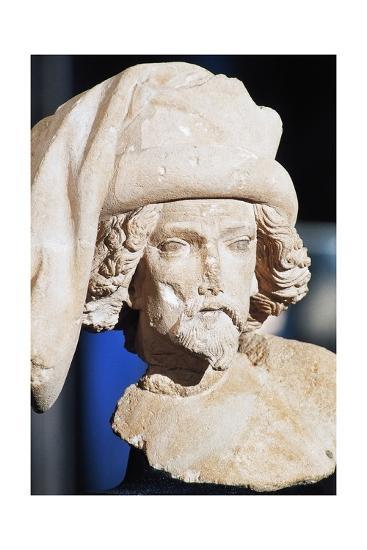 Male Bust, Royal Palace--Giclee Print