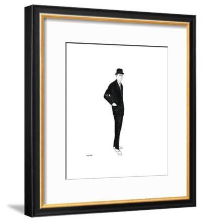 Male Fashion Figure, c. 1960-Andy Warhol-Framed Giclee Print