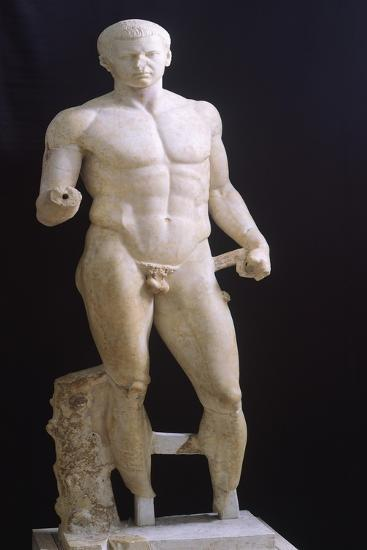 Male Figure, Ionic Sculpture of Magna Grecia--Giclee Print