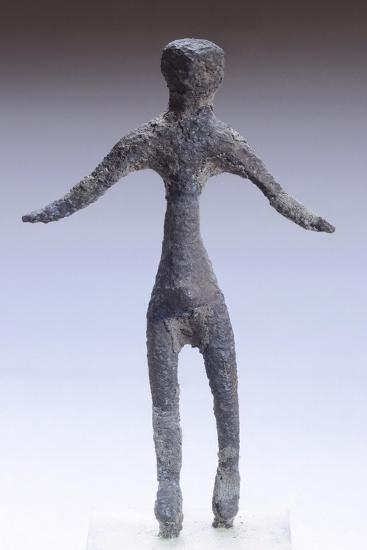 Male Figure Making an Offering, Bronze Statuette from Marzabotto--Giclee Print