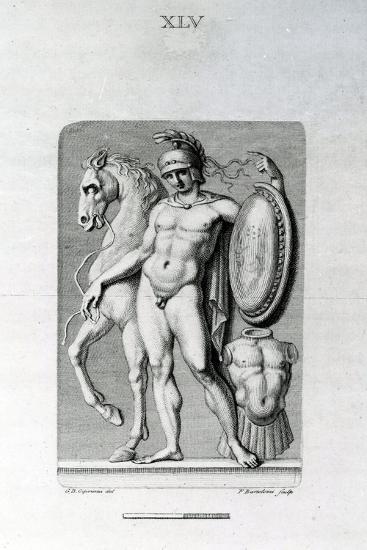 Male Nude, 18th Century-Giovanni Battista Cipriani-Giclee Print
