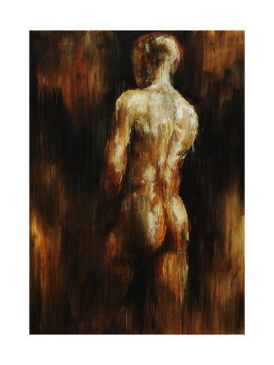 Male Nude I-Sydney Edmunds-Giclee Print