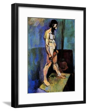 Male Nude Model-Henri Matisse-Framed Giclee Print