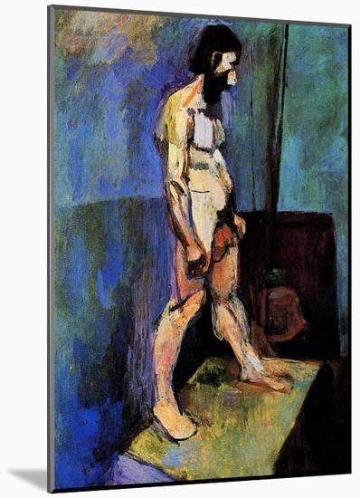 Male Nude Model-Henri Matisse-Mounted Giclee Print