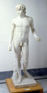 Male Nude, Possibly Antinous, 130-138 AD