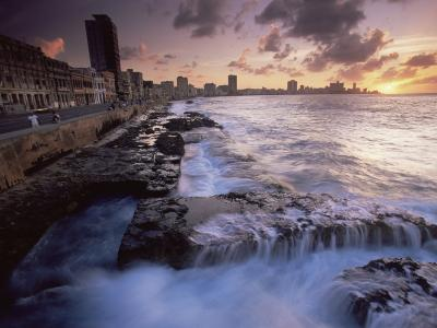 Malecon, Havana, Cuba, West Indies, Central America-Colin Brynn-Photographic Print