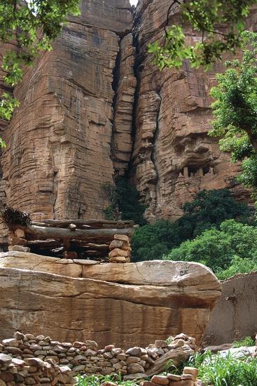Mali, Cliff of Bandiagara--Giclee Print