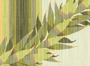 Water Leaves II by Mali Nave