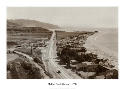 Malibu Beach Colony, 1944--Art Print