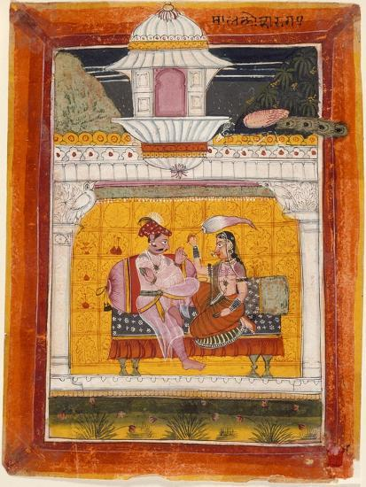 Malkos Raga, Folio from a Ragamala (Garland of Melodies)--Art Print