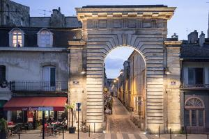 An Historic Gate Leading into the City of Bordeaux by Mallorie Ostrowitz