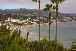 Beach resort town of Newport Beach, California. by Mallorie Ostrowitz