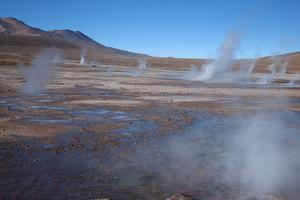 Chile, Andes, El Tatio Is a Largest Geothermal Location by Mallorie Ostrowitz