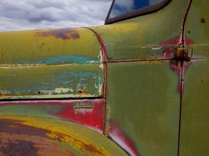 Detail of Abandoned Truck in New Mexico by Mallorie Ostrowitz