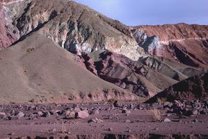 Domeyko Mountains, Called Rainbow Valley, Atacama Desert, Chile by Mallorie Ostrowitz