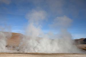 El Tatio Geyser Located in the Andes in Northern Atacama, Chile by Mallorie Ostrowitz
