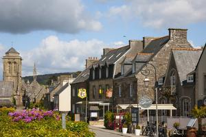 France, on the Coast of Brittany Is the Town of Locronan by Mallorie Ostrowitz