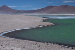 Lagoon Sits Along the North-South Highway En Route to Tatio Geysers by Mallorie Ostrowitz