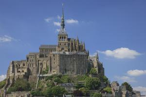 Mont Saint-Michel Is an Island Commune in Normandy, France by Mallorie Ostrowitz