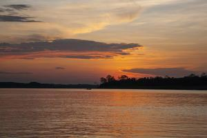 Sunset on the Ucayali River, Amazon Basin of Peru by Mallorie Ostrowitz