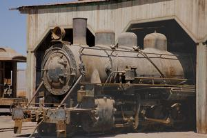The Baquedano Railway Depot, Chile by Mallorie Ostrowitz