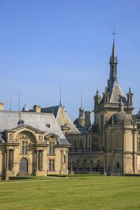 The Chateau of Chantilly, the Petit Chateau, and the Grand Chateau by Mallorie Ostrowitz