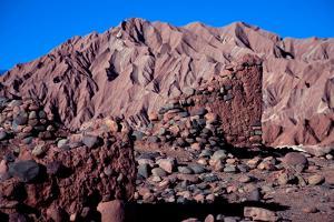 The Fortress of Quitor Pukara, Ayllu of Quitor, San Pedro de Atacama by Mallorie Ostrowitz