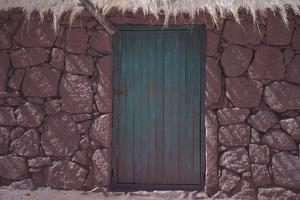 The Front Door of a House in the Town of Machuca, Chile by Mallorie Ostrowitz