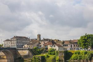Town of Bergerac. Aquitaine, Dordogne Department, France by Mallorie Ostrowitz