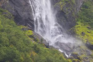 Waterfall, on the Flamm Railway. by Mallorie Ostrowitz